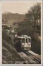 56023 -- CARTOLINA d'Epoca - LAGO MAGGIORE: Ferrovia  Stresa - Mottarone