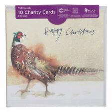 WHSmith Christmas Pheasant Charity Christmas Cards With Envelopes Pack Of 10