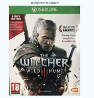 Xbox One The Witcher III 3 Wild Hunt Bonus Content Witcher Universe/Stickers/MAP