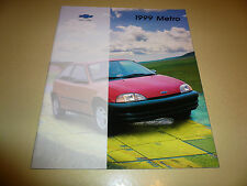 1999 Chevrolet Metro Sales Brochure - Buy 1 get Second one Free