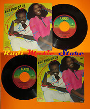 LP 45 7''CLAUDJA BARRY RONNIE JONES The two of us United we 1981 italy cd mc*dvd