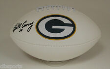 BILL CURRY signed Green Bay PACKERS Logo FOOTBALL auto Alabama COLTS