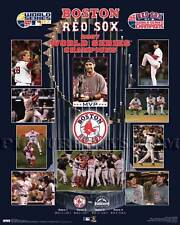 Boston Red Sox 2007 World Series Championship Picture Plaque