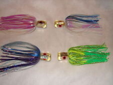 3 Chugger Big Game Trolling Saltwater Fishing Lure Tuna Mahi Tuna Marlin Lot