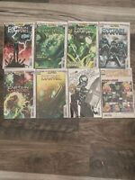 Captain Marvel lot 18, 19, 20, 21. 1st and second prints with some variants NM