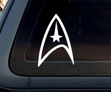 Star Trek Federation Logo Starfleet Academy Car Decal / Sticker
