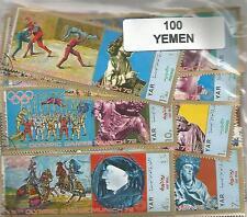 Lot timbres du Yemen