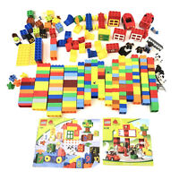 Lego Duplo Incomplete Sets 255 Total Pieces with Storage Tub