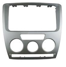 Adaptateur Autoradio Façade Cadre Réducteur 2DIN pour Skoda Octavia 2007 à 2009