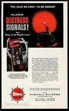 1964 Harvell Kilgore Marine boat distress signal flare vintage print ad