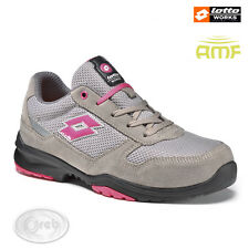 SCARPE ANTINFORTUNISTICHE LOTTO WORKS FLEX EVO 500 W S1205 S1P SRC DONNA