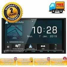 """Kenwood DMX8019DABS 7"""" Screen Double Din DAB WiFi Bluetooth CarPlay Android"""
