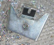 Corvette 1956 1957 1958 Top Left Door End Cap clip Goes Under End Cap holds it