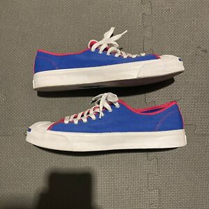 Converse JACK PURCELL Happy Camper Game Royal Low-Top Sz 10 Women 11.5 167922C