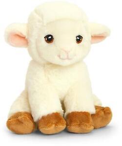 Keel Toys KEELECO SHEEP 19CM Soft Toy Stuffed Animal Cuddly Plush BN