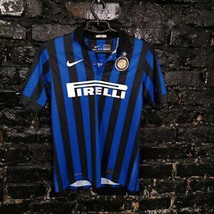 Internazionale Jersey Home football shirt 2011  2012 Nike 419959-010 Sz Young L