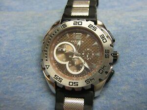 Men's AKRIBOS XXIV Water Resistant Chronograph Diver's Watch w/ New Battery