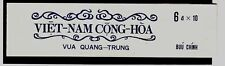 South Viet Nam Sc 411-12 + 411a booklet - NH issue of 1972 - King Trung