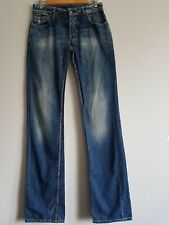 Japan Rags Blue Jeans Wash Denim T27 leg 34""