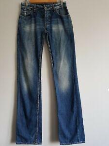"""Japan Rags Blue Jeans Wash Denim T27 leg 34"""""""