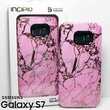 INCIPIO [Marble Design Series] Slim Case for Samsung Galaxy S7 - Pink Rose Gold