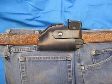 Leather Holster for Ruger .380 LCP, with or without, Crimson Trace Laserguard