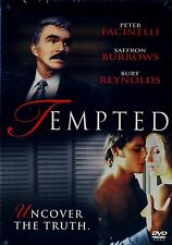 BRAND NEW DVD // TEMPTED // BURT REYNOLDS, SAFFRON BURROWS, PETER FACINELLI