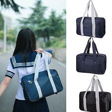Japanese School Uniform Student Bookbag Handbag Shoulder Crossbody Bag Cosplay