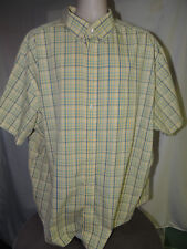 Roundtree & Yorke 3XL Gold Label Plaided Button Up