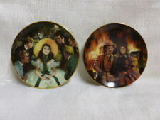 Gone With The Wind Golden Memories Scarlett Atlanta Bradford Mini Plate Set