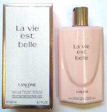 Lancome La Vie Est Belle Nourishing Fragranced Body Lotion 200ml NEW & BOXED