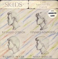 SKIDS The Absolute Game 2 x LP RARE 1980 UK ORIGINAL 1ST PRESSING & BOTH INSERTS
