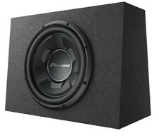 """New Pioneer TS-WX126B 1300 Watts 12"""" Pre Loaded Compact Subwoofer Enclosure Box"""