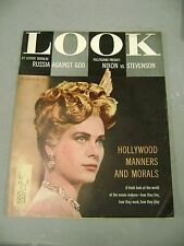 LOOK JANUARY 10 1956 GRACE KELLY COVER