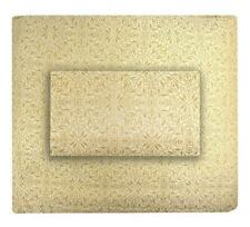 Sferra Ilaria 500 Tc Queen Duvet Cover & Standard Pillow Sham, Honey Gold New