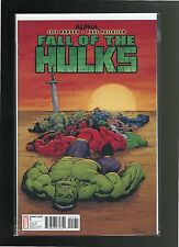 Fall of the Hulks Alpha #1 NM- to NM+ Parker Variant Cover Pelletier Dr Doom