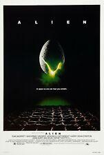 "ALIEN Silk Fabric Movie Poster 27""x40"" Sci Fi Horror Predator"