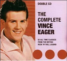 VINCE EAGER Complete Vince Eager 2CD  62 Tracks Double CD  British Rock 'n' Roll
