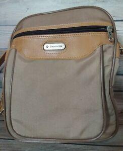 "Vintage Samsonite Crossbody Carry On Luggage Shoulder Bag-10""x9""x5"""