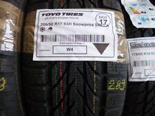 1x Winterreifen TOYO 205/50 R17 93H Snowprox S953 A DOT17 - 8mm