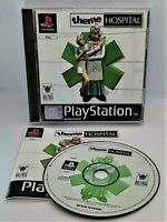 Theme Hospital Video Game for Sony PlayStation PS1 PAL TESTED
