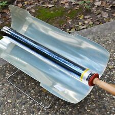 New Fuel Free Portable Stove Solar Cooker Oven Cooking Camping Outdoor BBQ Grill