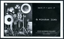 1997 O. Winston Link photo NYC gallery show vintage print ad
