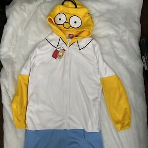 Primark The Simpsons Homer All In One Sleepsuit Size XS/S BNWT