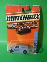 Matchbox Austin Mini Van #72 Blue City Action New