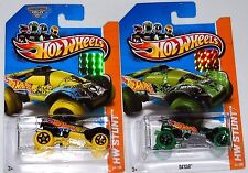 2013 HOT WHEELS RLC FACTORY SET HW STUNT DA'KAR