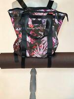 Danskin Yoga Bag Tote Bag Convertible Backpack Wild Haven Floral Print