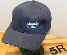 NICE FOX TV AMERICAN IDOL HAT DARK BLUE STRAP AND BUCKLE ADJUSTABLE VGC