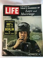 """Life Magazine Vintage September 8th, 1961 """"Today's Dilemmas of Love & Marriage"""""""