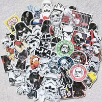 50Pcs Cool Star Wars Graffiti Sticker Kids Toy DIY Skateboard Luggage Laptop Car
